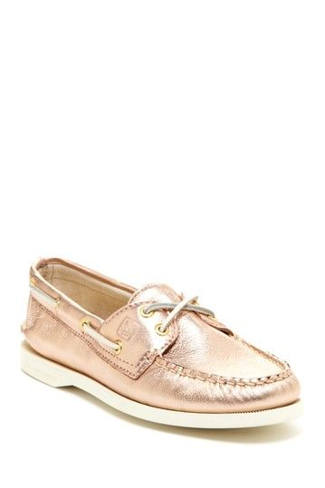 b31a0f5f9b74 Sperry Top-Sider Rose Gold Boat Shoe on HauteLook