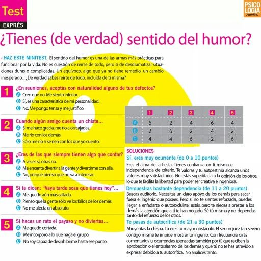 Test: ¿Tienes sentido del humor?