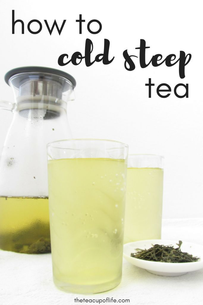 Photo of How To Cold Steep Tea