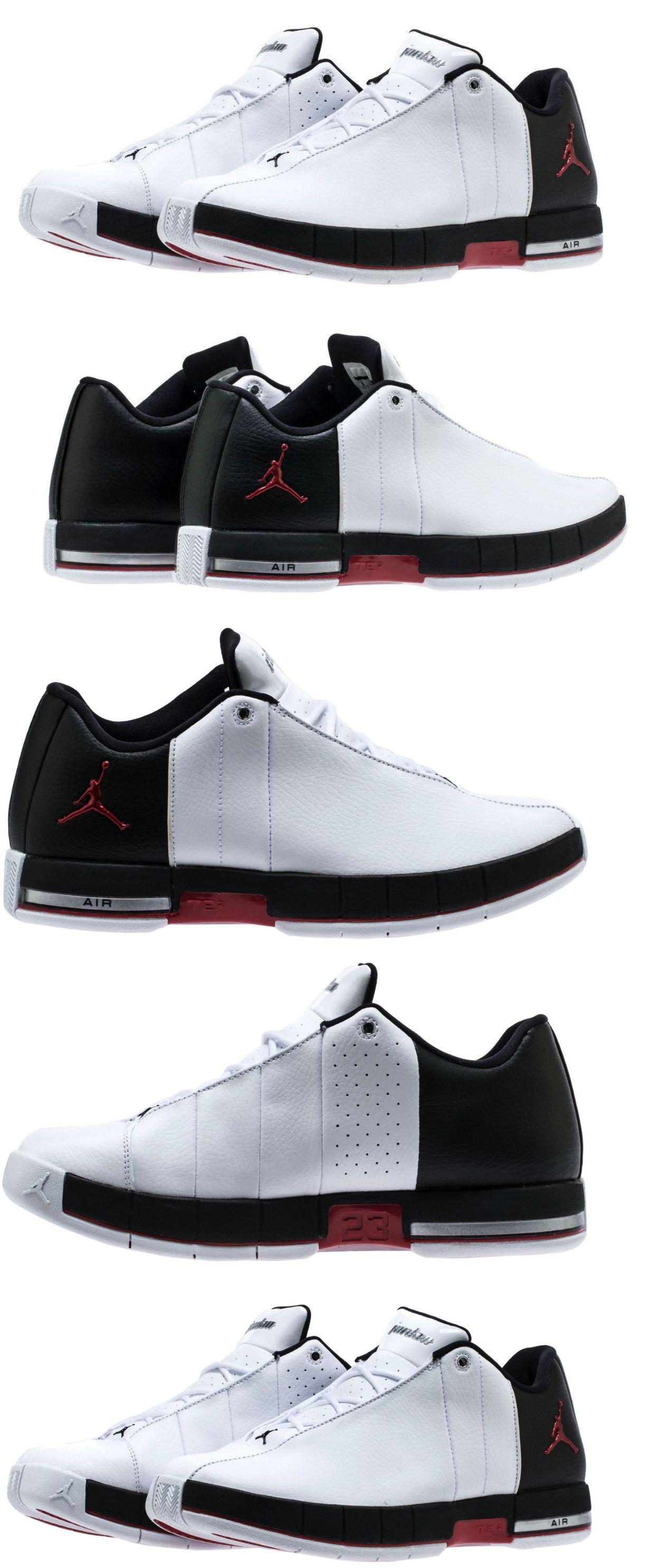 911df01ec00069 Mens Shoes 93427  New Air Jordan Team Elite 2 Low Sneaker Mens White Black  Red