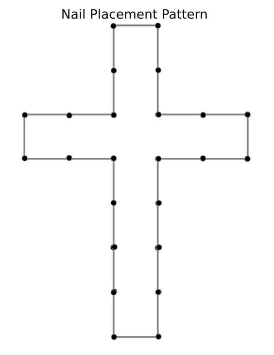 wooden cross patterns free - Google Search