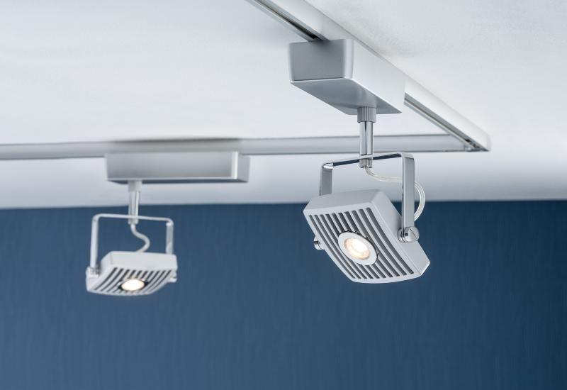 eclairage tableau eclairage sur rail plafond led spot loupe 10 watts paulmann eclairage sur. Black Bedroom Furniture Sets. Home Design Ideas