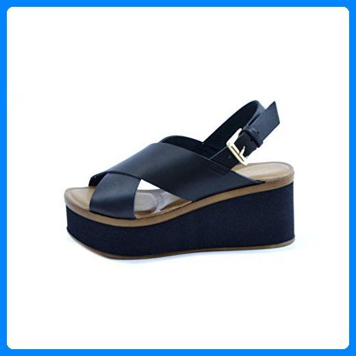 Soldini, Damen Sandalen schwarz schwarz, schwarz - schwarz - Größe: 39 EU Soldini