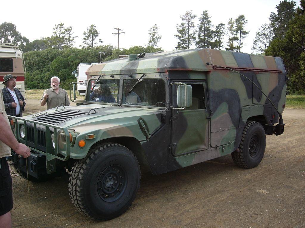 Kurt Lesser S Hmmwv Ambulance Front Mark S Tech Journal Hummer Ambulance Dream Cars