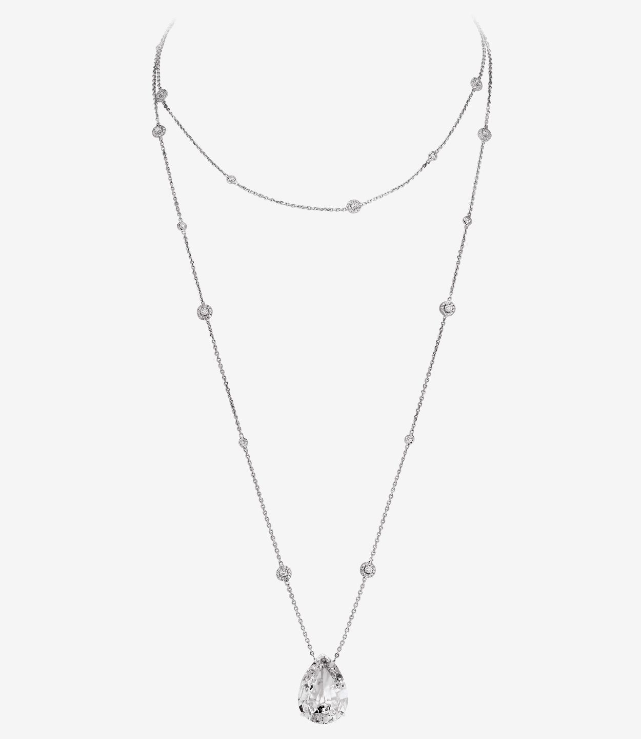 Messika - Collier Sautoir Joy Poire