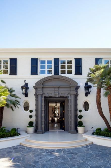 Entryway bel air california home design plans dream pictures also ca designed by paul williams house rh pinterest