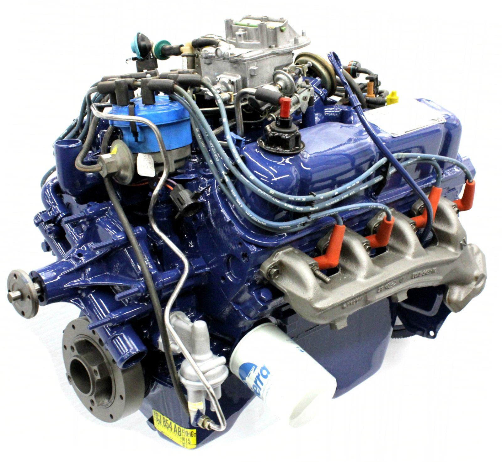 New Ford 255 4 2l V8 Complete Engine Motor 2v 1980 82 Fairmont Mustang Mercury Ebay Ford Engineering Motor