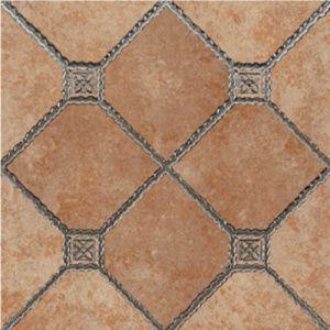 Glazed NonSlip Rustic Ceramic FloorTiles for Outdoor Garden on