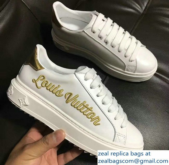 Louis vuitton, Gold sneakers outfit