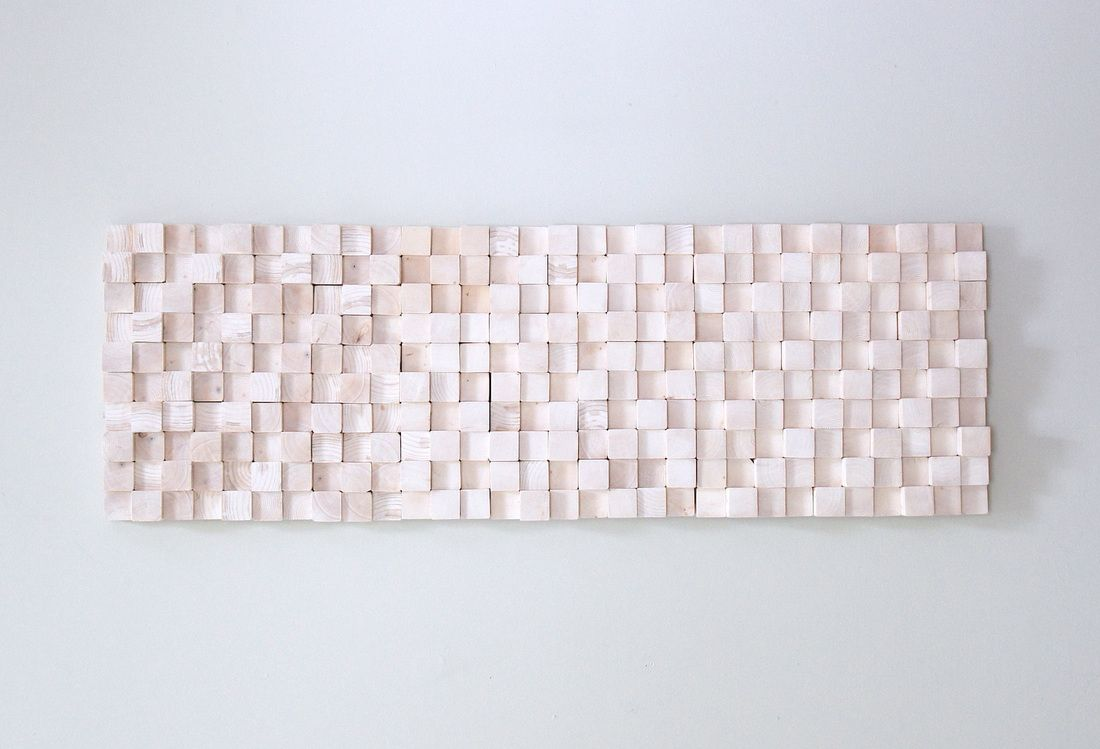 Rhythm pine forest natural wood wall sculpture walldecorpainting