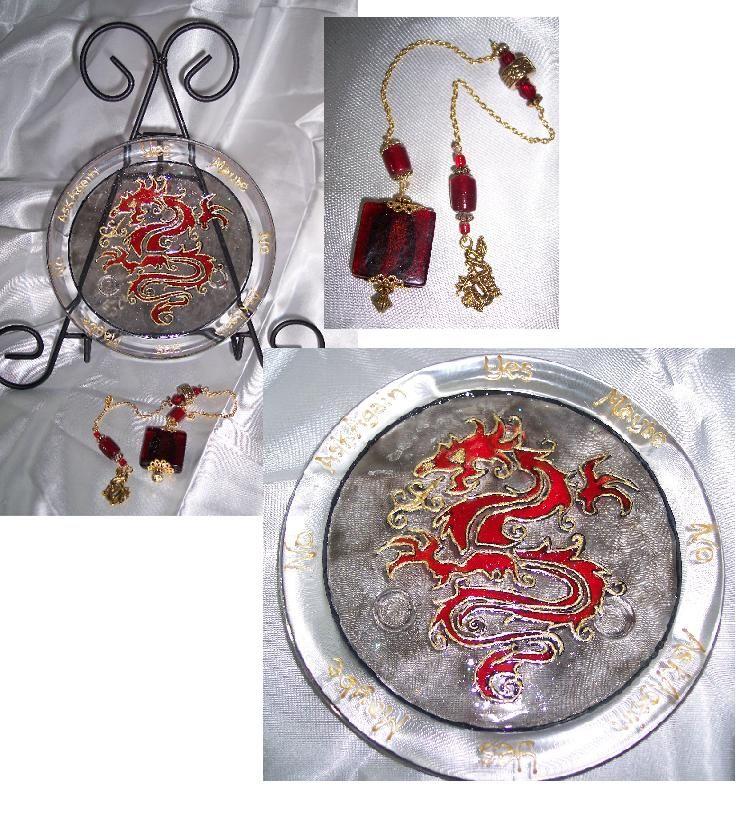Oriental Dragon Pendulum Set - for the Year of the Dragon ...