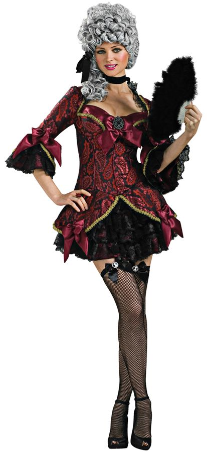 LADY OF VERSAILLES ADULT WOMENS PLUS SIZE MASQUERADE FANCY DRESS UP COSTUME
