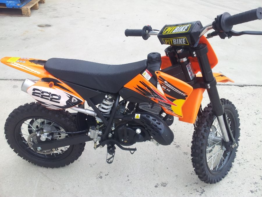 PITBIKE (SUPERMOTO) HIGH PERFORMANCE 50CC CHILDREN BIKE AS GOOD AS
