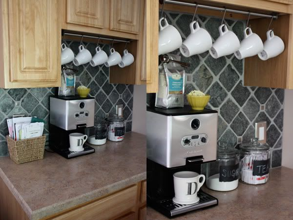 Ikea Mug Hanger Simple Kind Of Life Updated Coffee Bar
