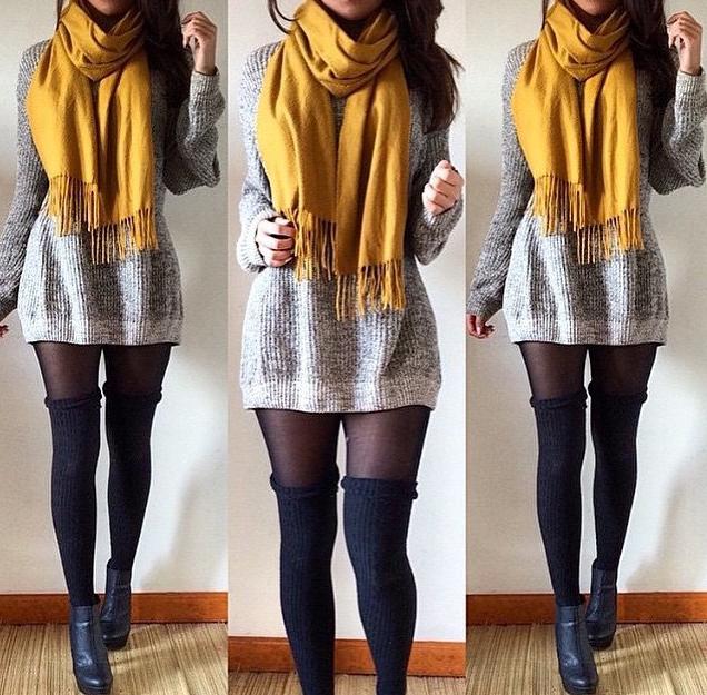 8ed129ff21f light grey wool long sleeve sweater dress