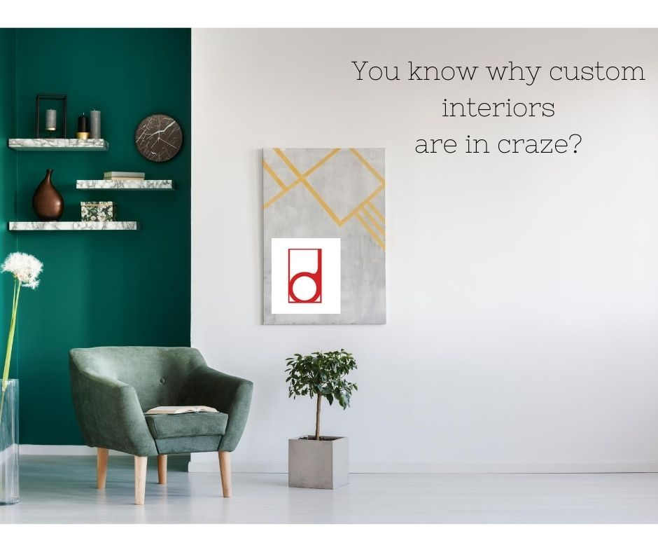 With home interiors being tailored according to: > A person's design vision  > and their budget Visit to know why custom interiors have become a craze!!  #custom #homeinteriors #interiordesign #bangalore