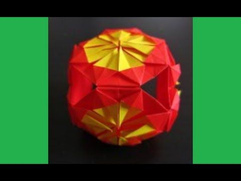 Diy how to fold origami flower cube chinese new year decoration diy how to fold origami flower cube chinese new year decoration crafts tutorial easy youtube mightylinksfo