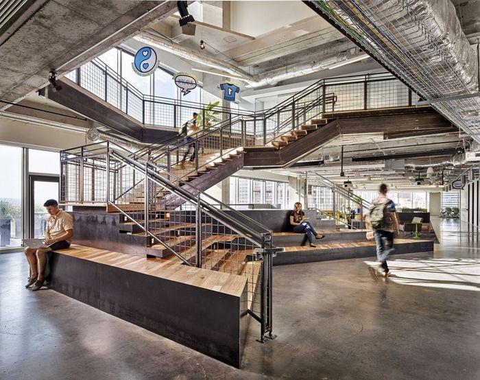 Best Office Tour Atlassian Offices – Austin Atrium Design 400 x 300