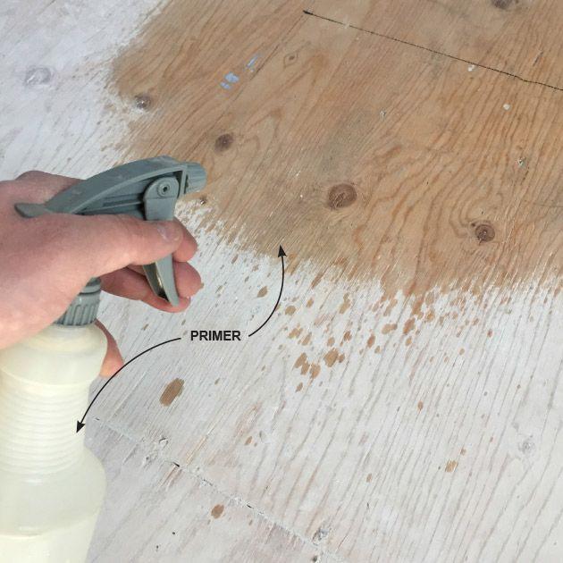 Prime the Wood | Underlayment, Leveling floor