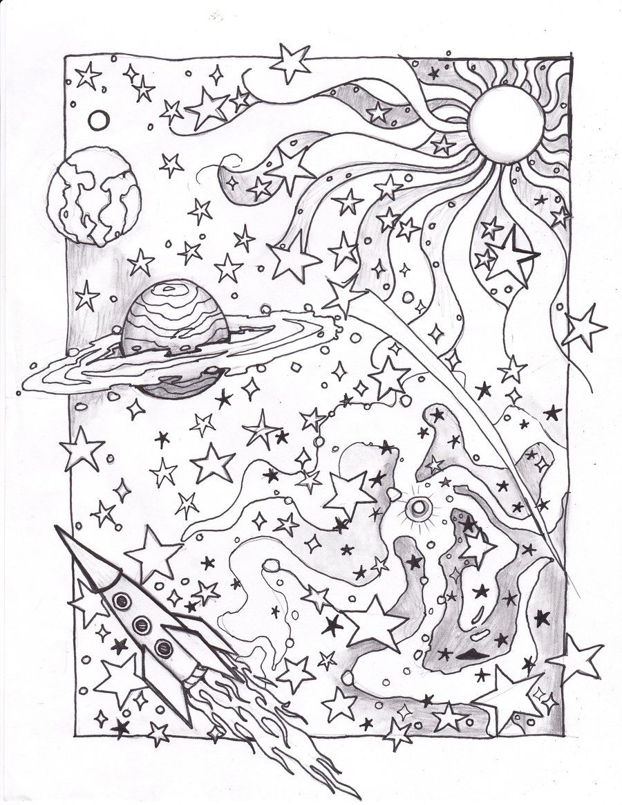 coloring page ufo coloring picture ufo free coloring sheets to print and download images for schools and education teaching materials img 18 - Outer Space Coloring Pages