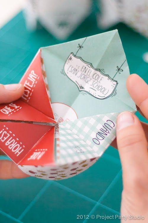 Invitaciones de un cumplea os pueden servir como idea - Como hacer tarjetas navidenas originales ...