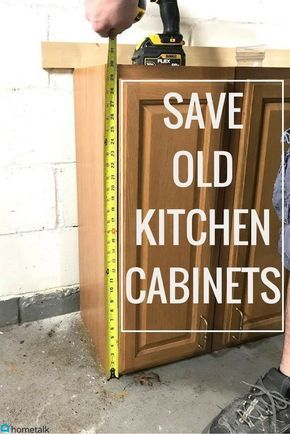 Repurposed Kitchen Cabinets Diy Project Kitchen Cabinets In Garage Repurposed Kitchen Old Kitchen Cabinets
