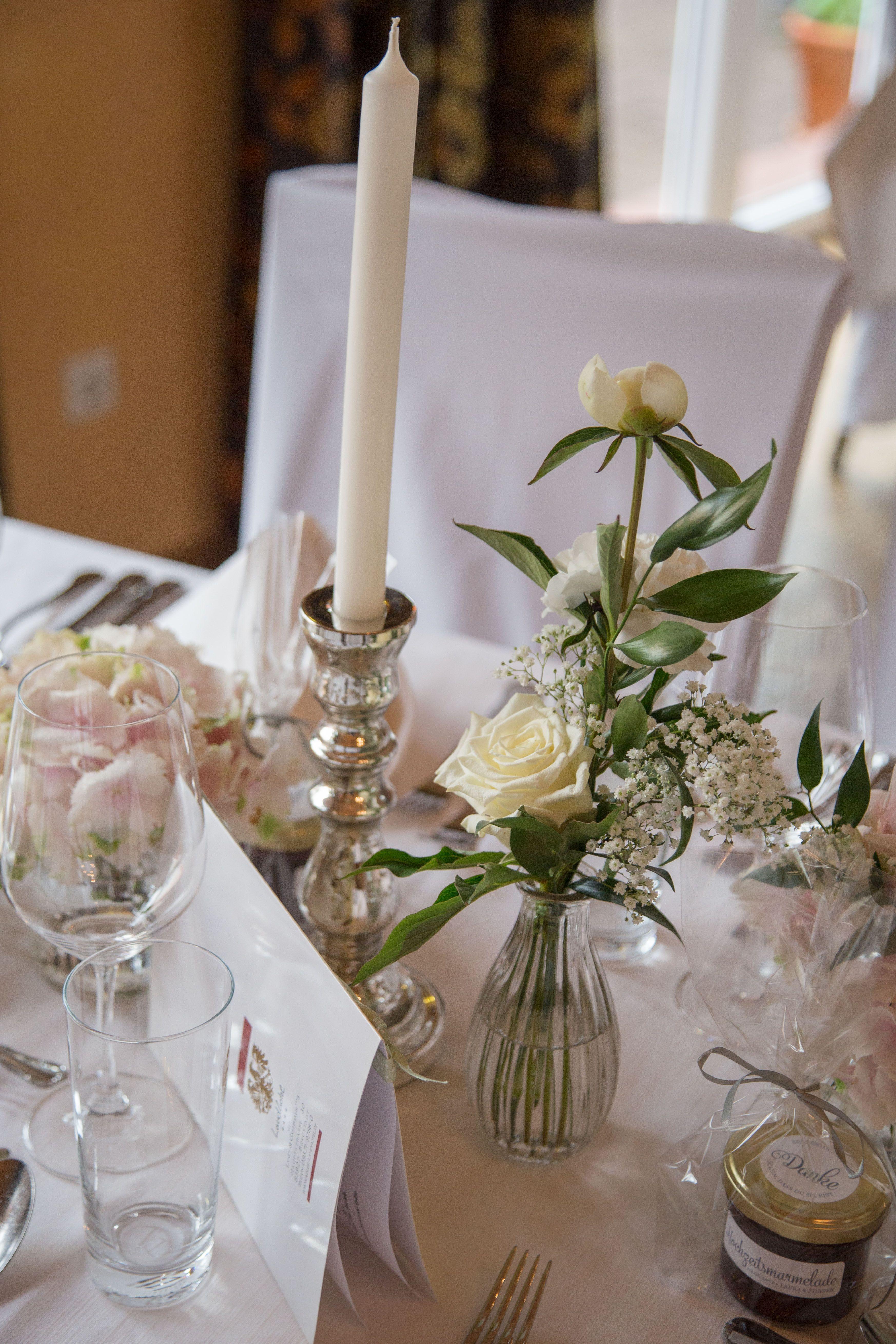 Wedding Hochzeit Dekoration Decoration Vintage Silber Silver
