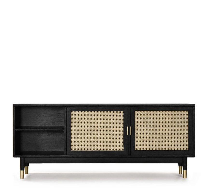 Tv Mobel Design Turen Holz Und Cannage Drawer Hogarn In 2020 Dream Furniture Tv Room Furniture Iconic Furniture