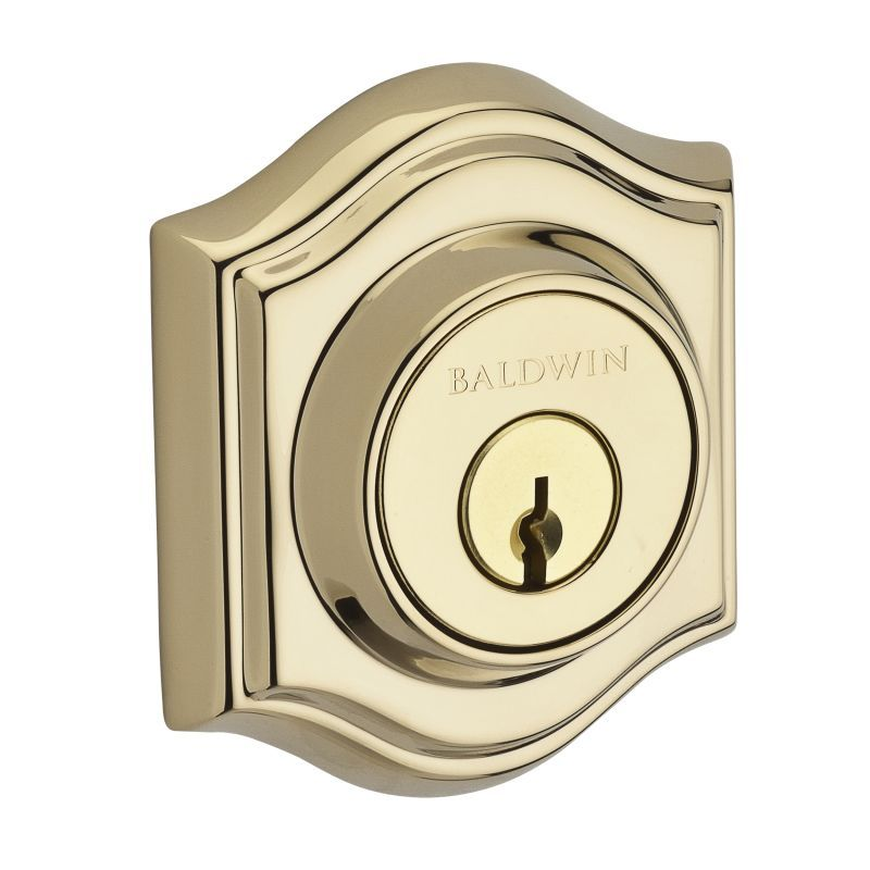 Baldwin DC.TAD Traditional Arch Double Cylinder Keyed Entry Deadbolt