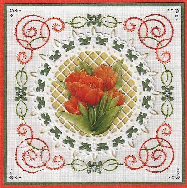 Ann's Paper Art pattern a287. Die by Joy! Crafts 6002/289