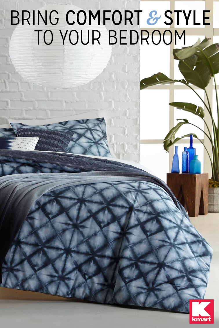 make a big impact with unique bedding details from kmart make your