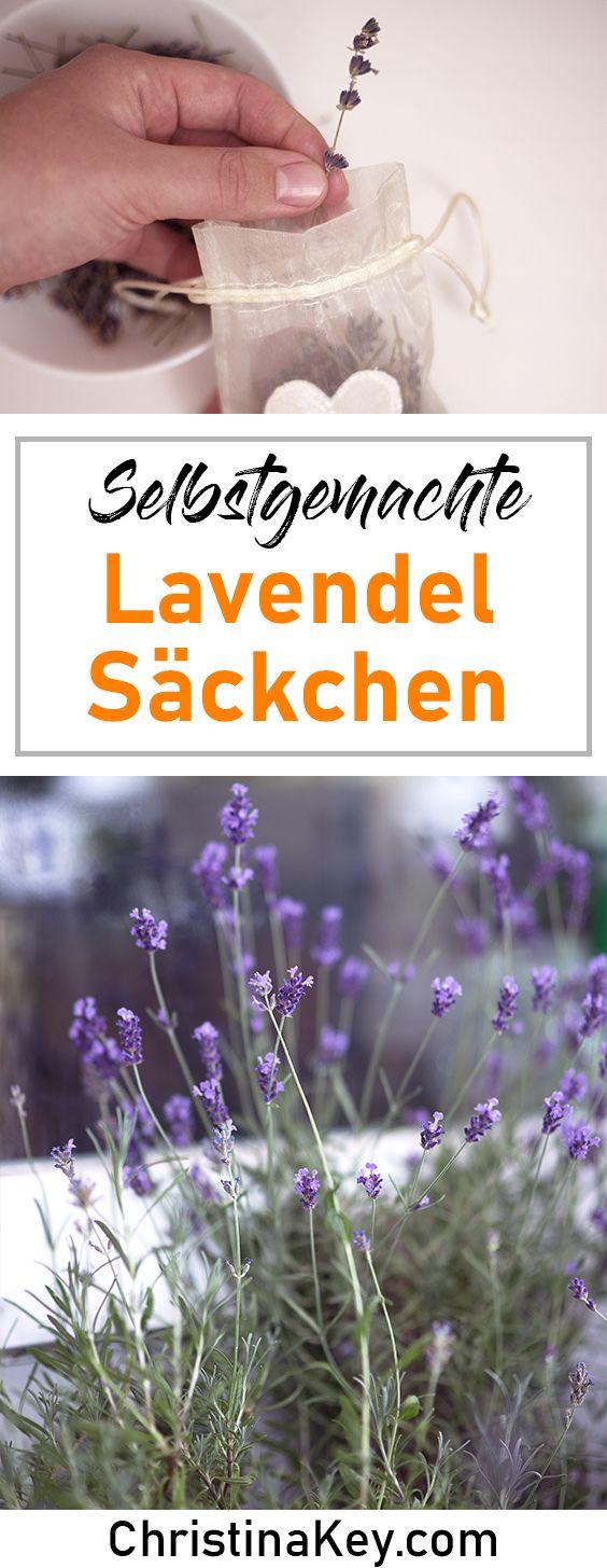 Diy Lavendel Sackchen Lavendel Diy Deko Selber Machen Und Motten Im Kleiderschrank