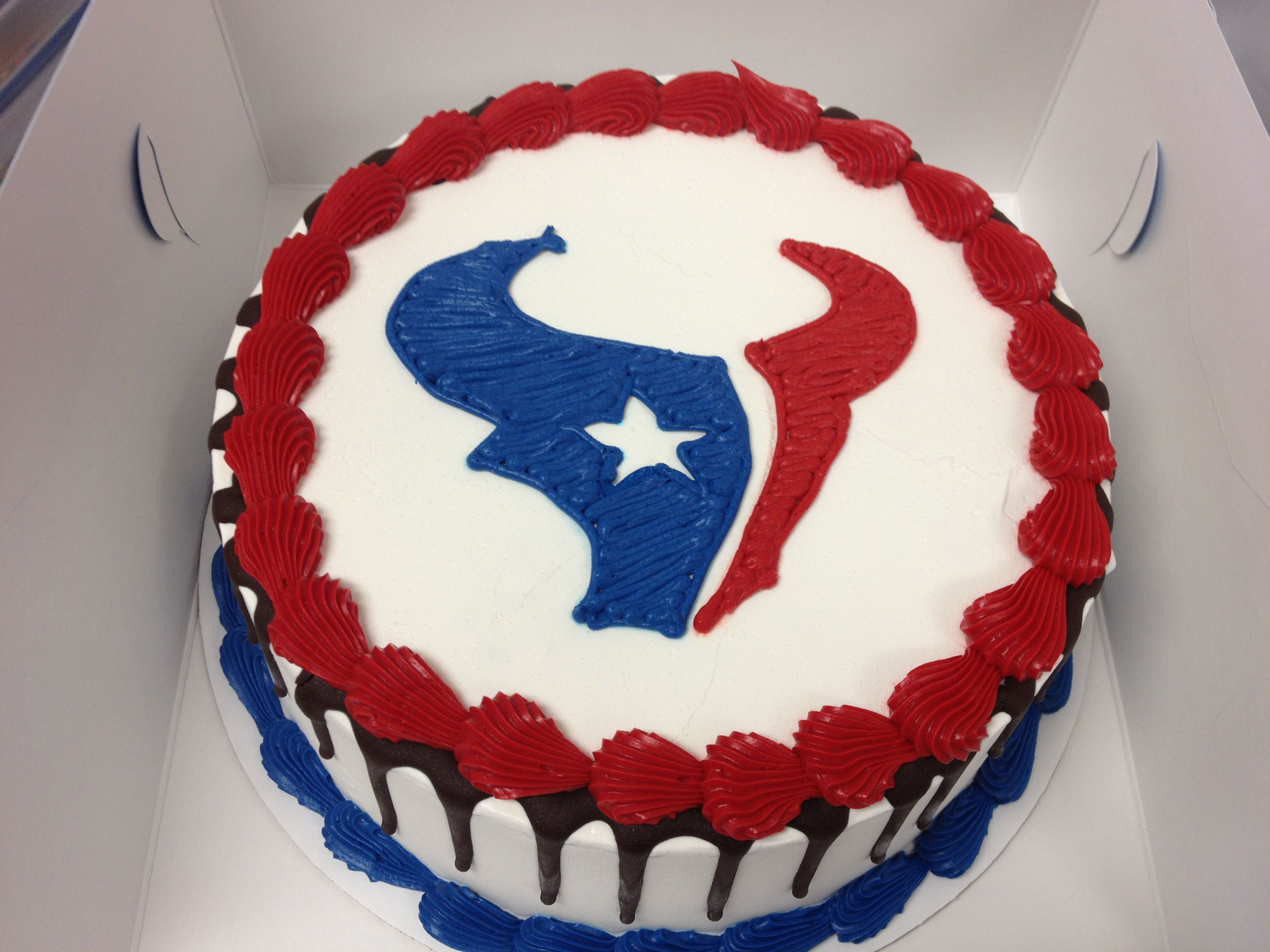 Houston Texans Birthday Cake