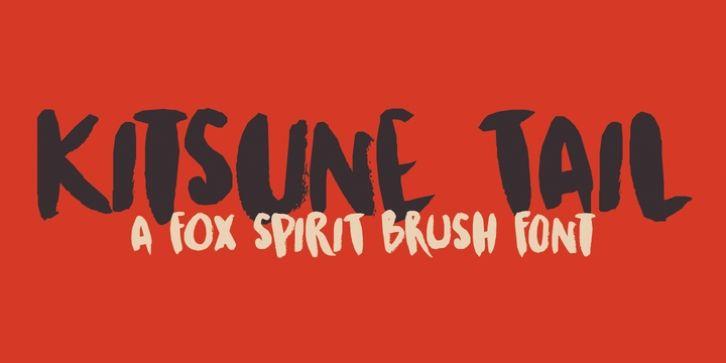 Kitsune Tail font download   Fonts   Fonts, Free fonts