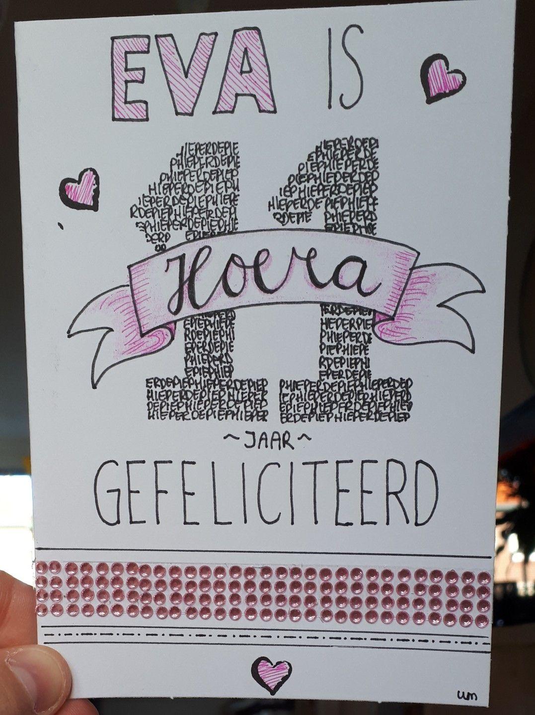 Birthday Verjaardag 11 Jaar Year Meisje Girl Teenager