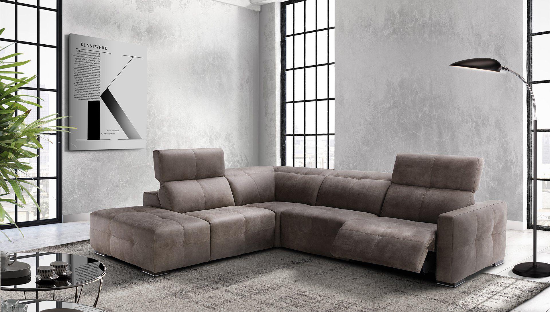 Модульный диван-реклайнер Sunset | Диван из ткани, Угловой ...