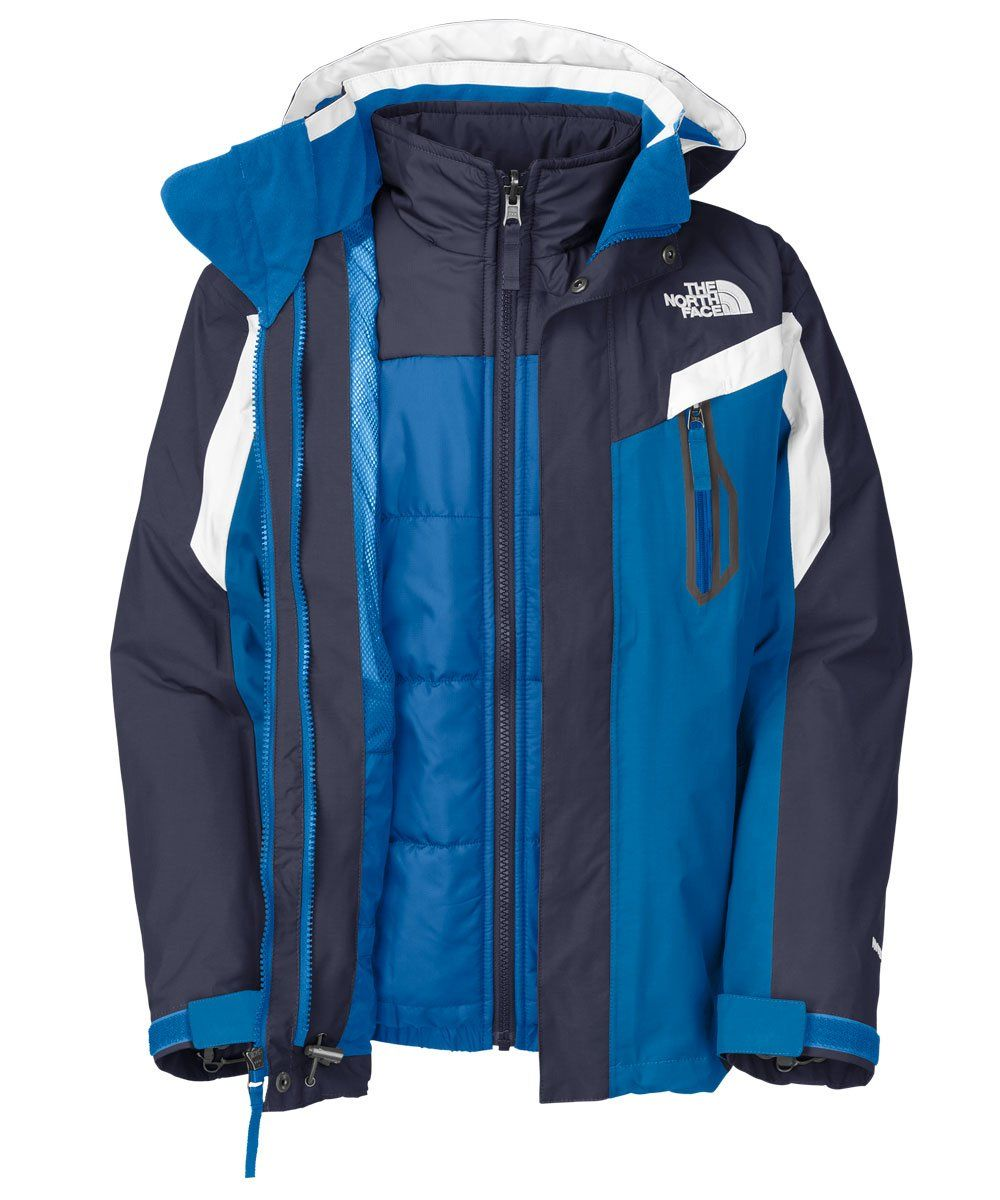 3f74d6a37 Amazon.com: The North Face Boy's Boundary Triclimate Jacket Cosmic ...