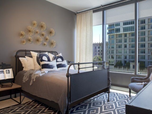 los angeles ca apartment photos apex the one modern bed framesmetal - Bed Frames Los Angeles
