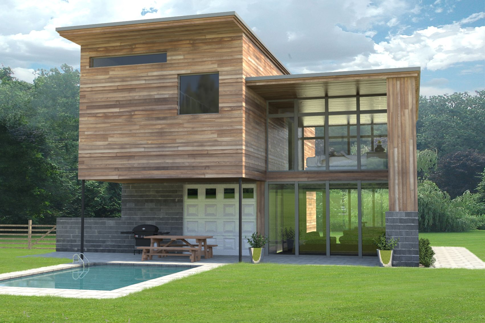 1000+ images about Modern Wood Siding on Pinterest - ^