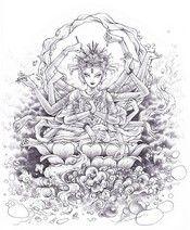 Ausmalen Erwachsene Hindu Göttin Coloring Pinterest Adult