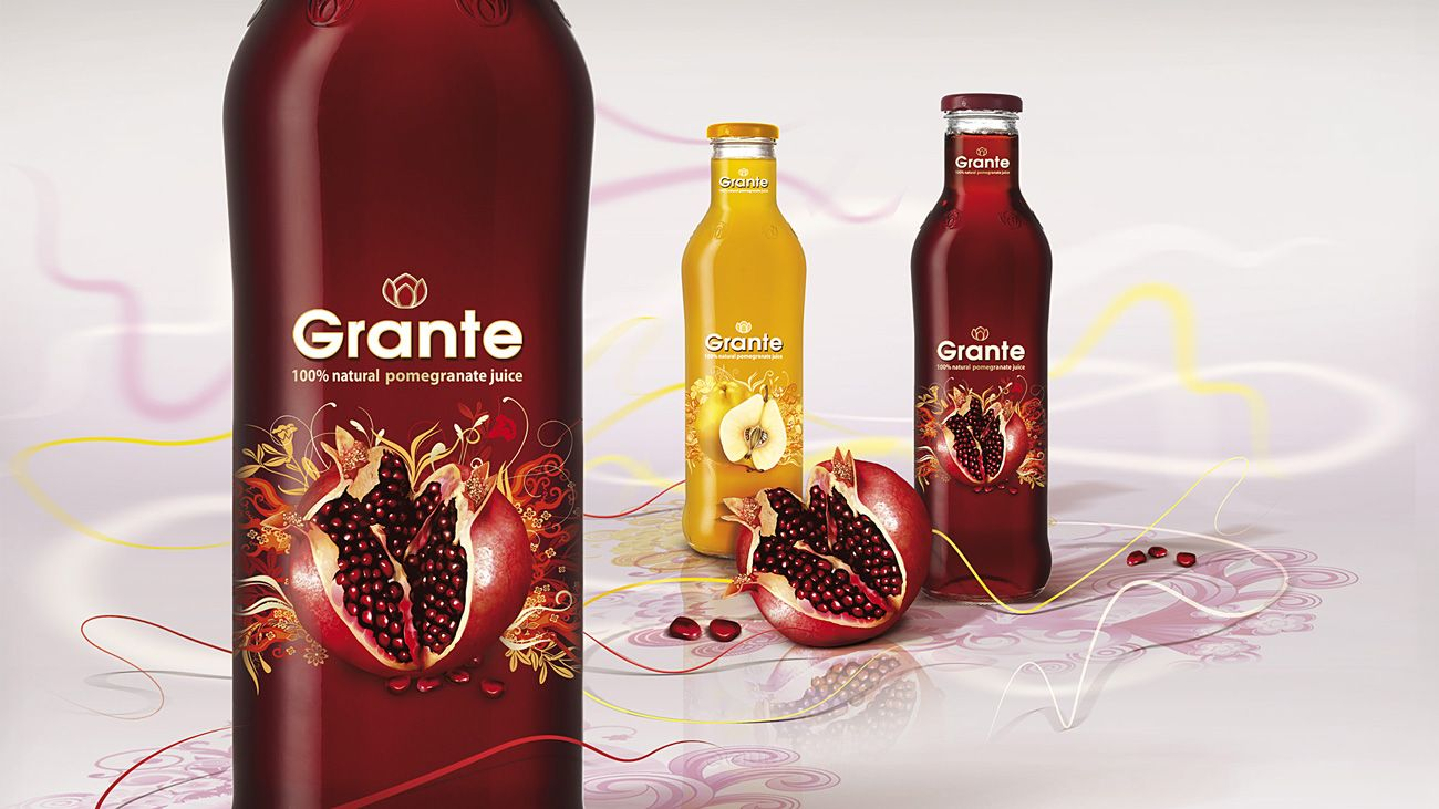 Grante 1 Jpg 1300 731 Juice Packaging Wine Bottle Pomegranate