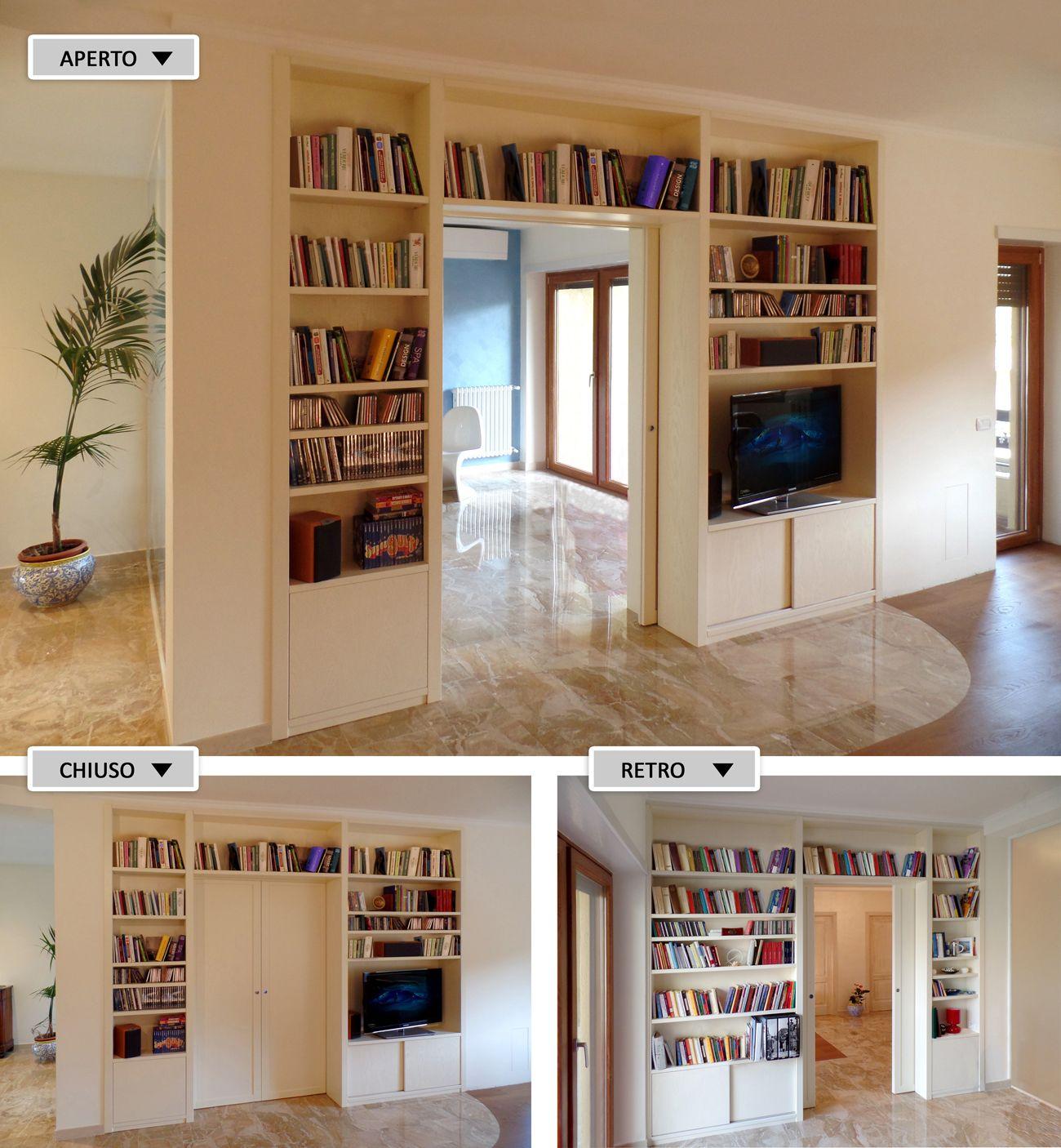 risultati immagini per librerie divisorie soluzioni casa