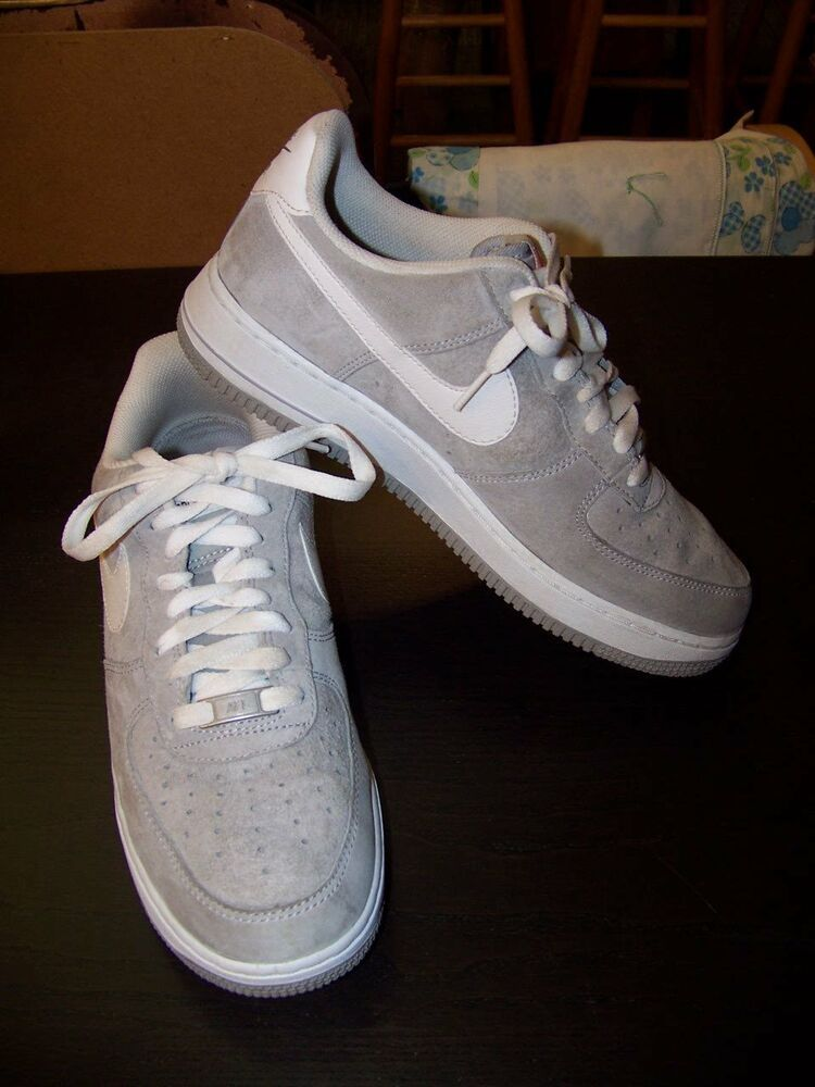 best service da606 5c424 Nike Men s AF1 Air Force 1 Suede Pack Wolf Grey White Shoes (488298-065)  Size 8  fashion  clothing  shoes  accessories  mensshoes  athleticshoes  (ebay link)
