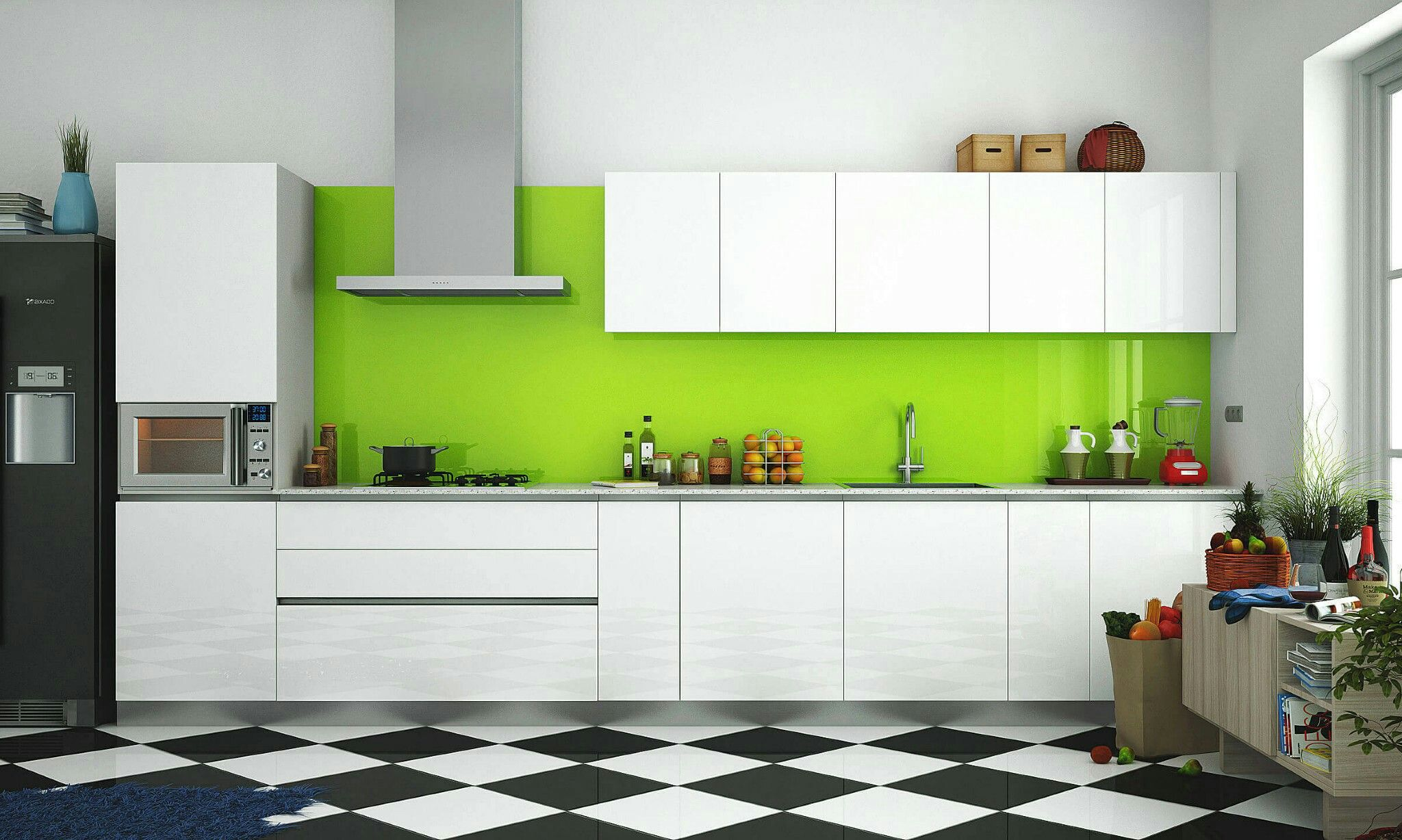 parallel kitchen design india - Google Search | kitchen | Pinterest ...