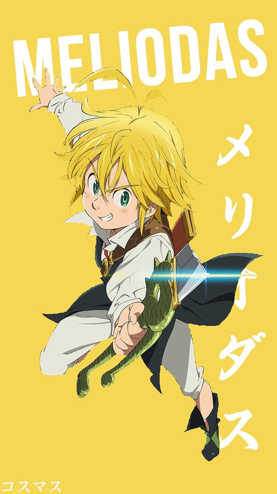 Meliodas Anime Characters Seven Deadly Sins Anime Anime