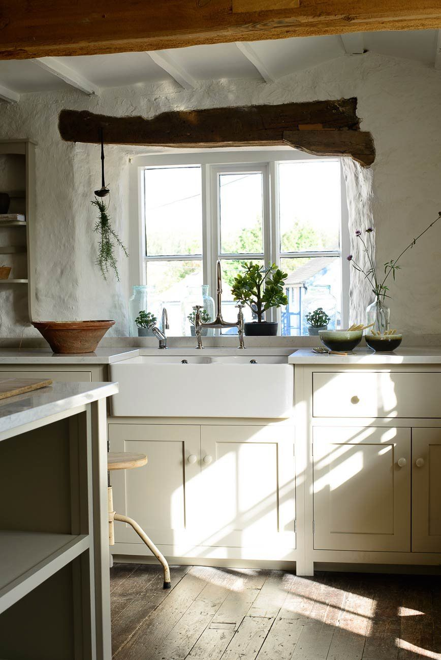 Kitchen window without sill  cotes mill shaker kitchen  devol kitchens  cc  pinterest  devol