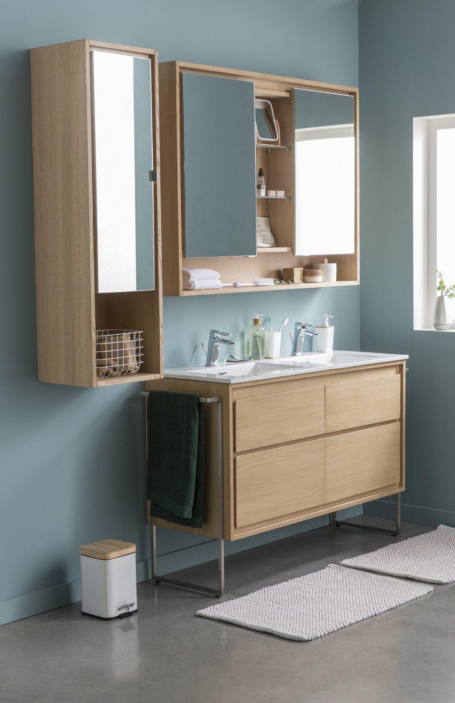Salle De Bain Agrandir ~ salle de bain style scandinave carrelage salle de bain blanc