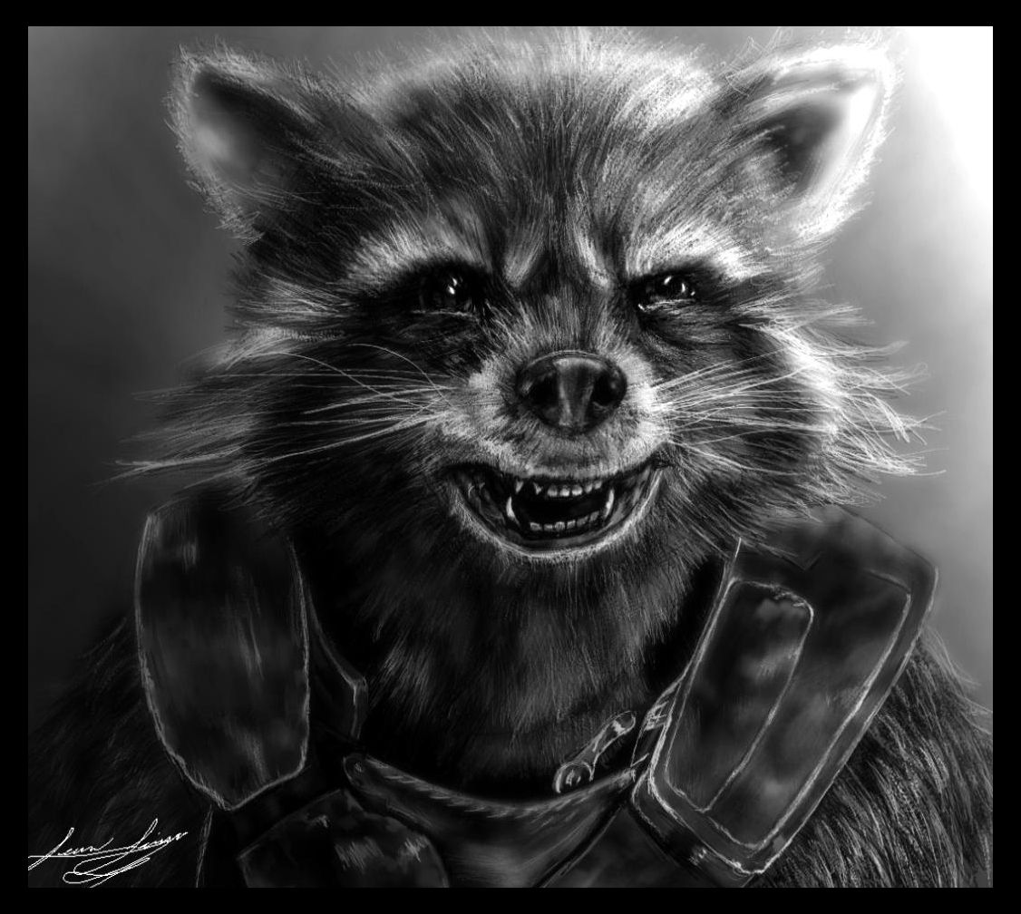 Star Lord And Rocket Raccoon By Timothygreenii On Deviantart: Rocket Racoon Guardians Of The Galaxy By Cowcoholic
