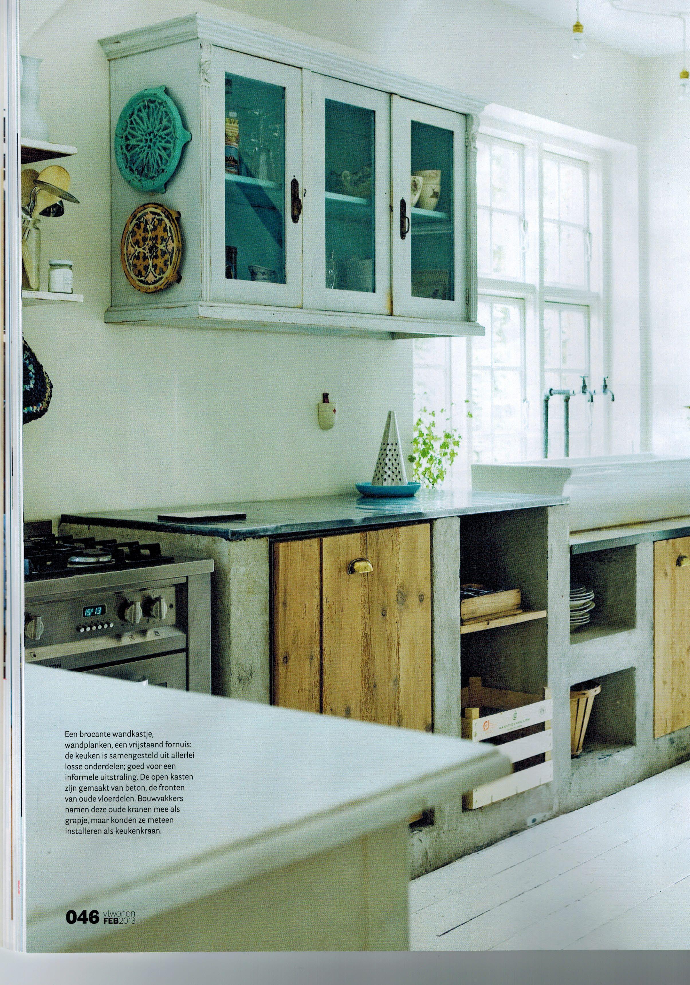 keuken onder afdak, vraag kunnen de muurtjes ook gewoon gemetseld en ...
