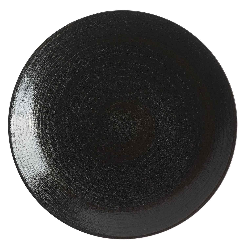 Royal Crown Derby Studio Glaze Dinnerware, Almost Midnight - Coupe Round Platter, 30cm, H: cm; Dia: 30cm #casualdinnerware Royal Crown Derby Studio Glaze Dinnerware, Almost Midnight - Coupe Round Platter, 30cm, H: cm; Dia: 30cm #casualdinnerware